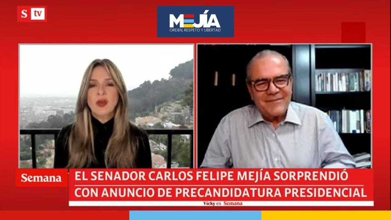 Carlos Felipe Mejía con Vicky