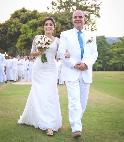 matrimonio senador mejia